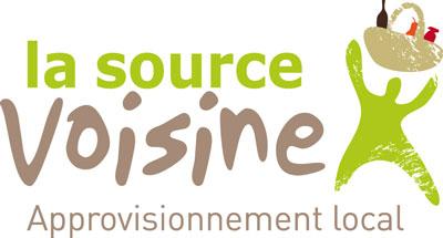 La source voisine, traiteur locavore (approvisionnement local) et commandes groupées de produits locaux logo